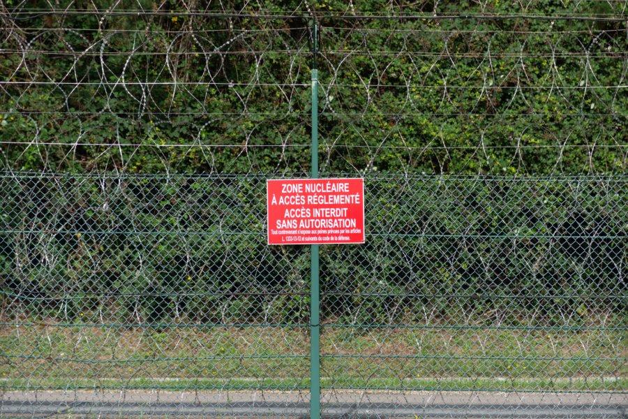 Zone nucléaire, centrale de Paluel