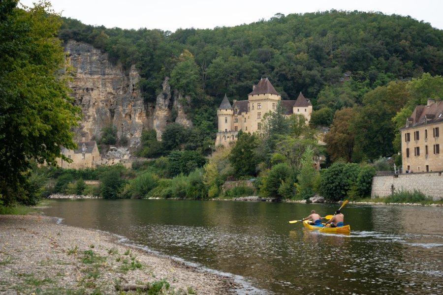 Canoë sur la Dordogne à La-Roque-Gageac