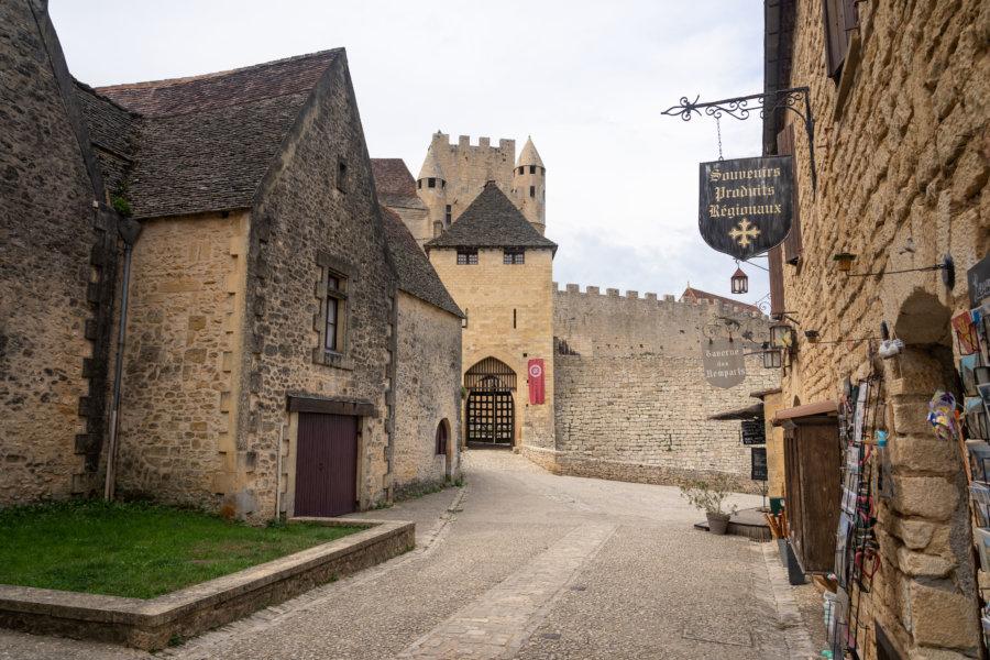 Château de Beynac-et-Cazenac en Dordogne