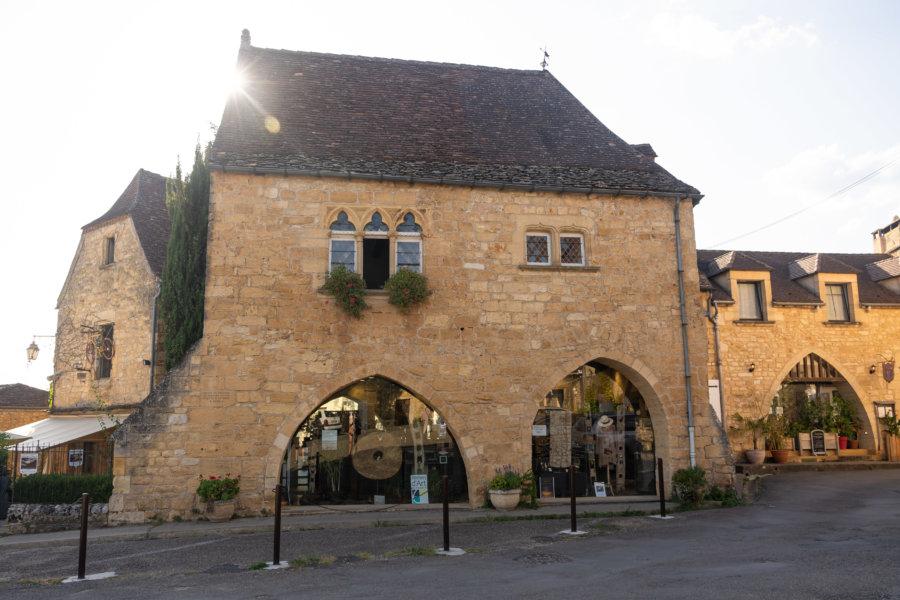 Maison dans le village de Domme, Périgord