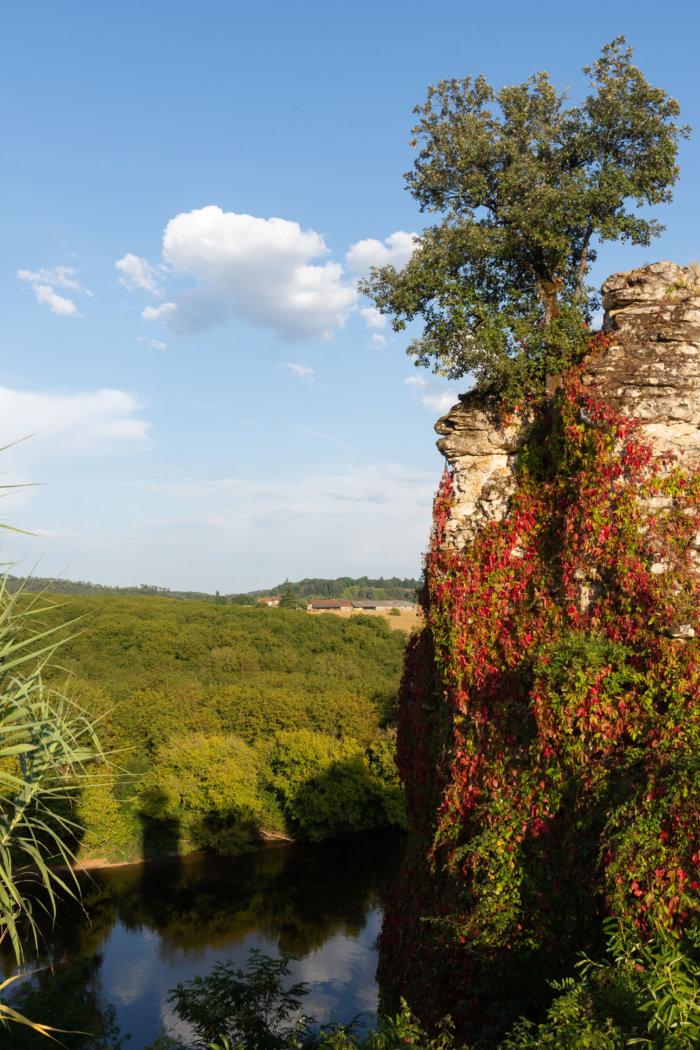 Paysage de Dordogne à Montfort, Vitrac