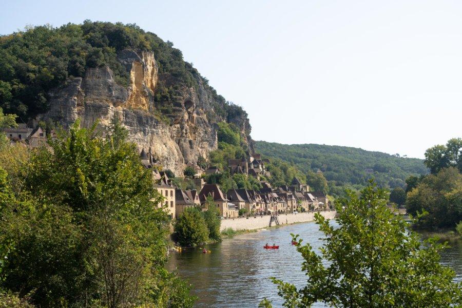 La-Roque-Gageac, beau village de Dordogne