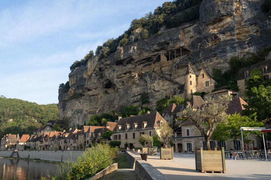 Village de La-Roque-Gageac en Dordogne