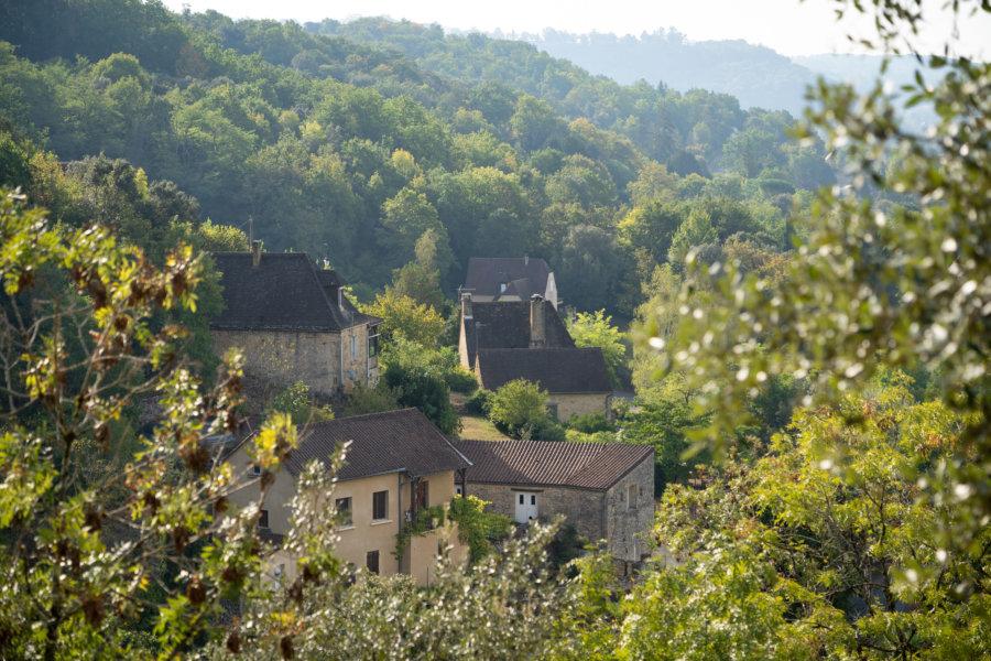 Randonnée à La-Roque-Gageac en Dordogne