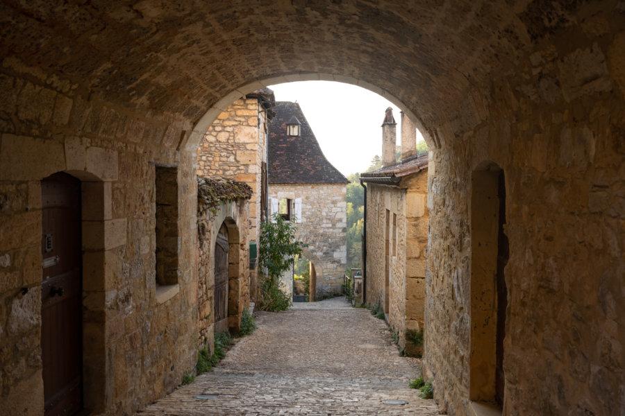 Village de Castelnaud-la-Chapelle, Périgord noir