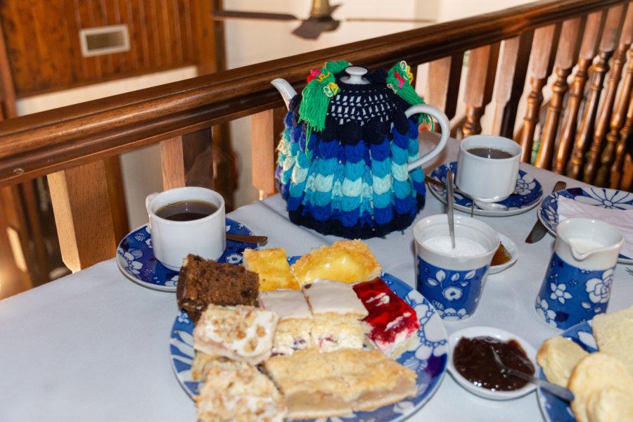 Goûter gallois dans un salon de thé à Gaiman
