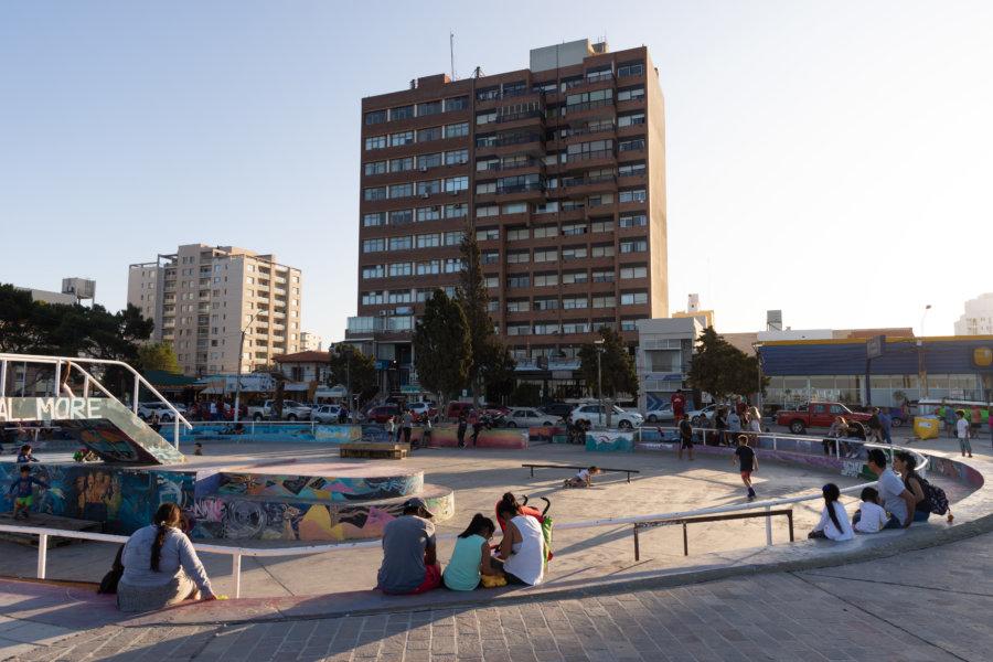 Ville de Puerto Madryn en Argentine