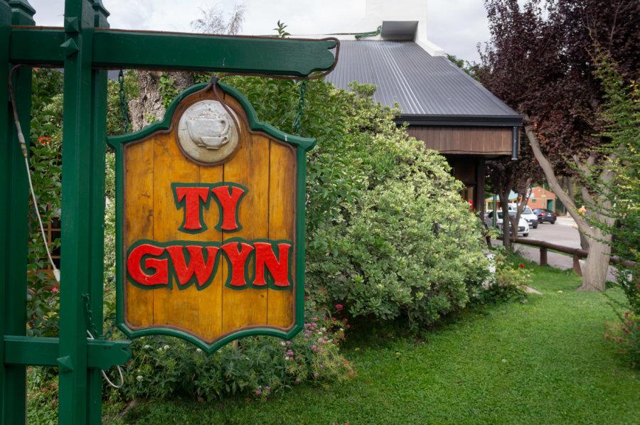 Ty Gwyn, salon de thé gallois à Gaiman