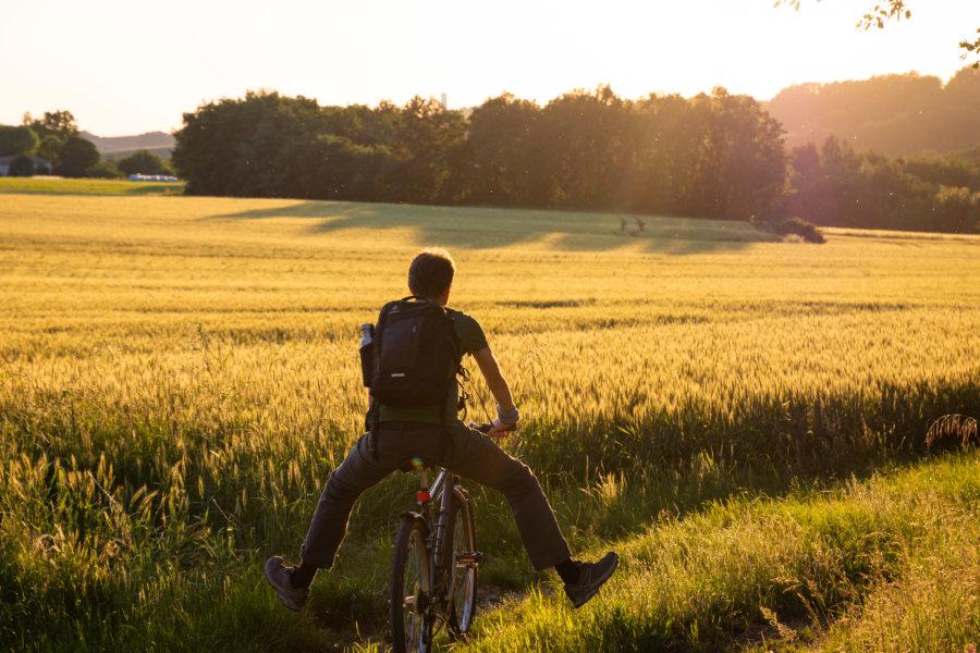Vélo dans la campagne du Tarn-et-Garonne
