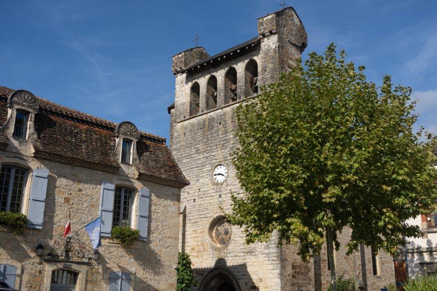 Village de Castelfranc dans le Lot