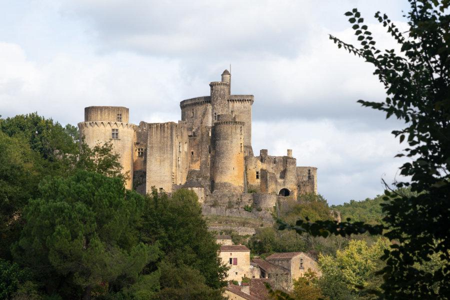 Château de Bonaguil dans le Lot-et-Garonne
