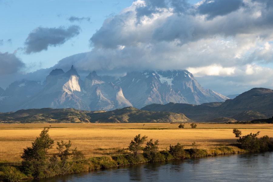 Entrée du parc Torres del Paine en Patagonie