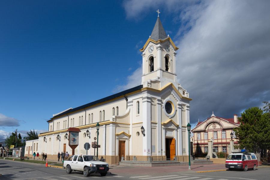 Église Maria Auxiliadora à Puerto Natales en Patagonie