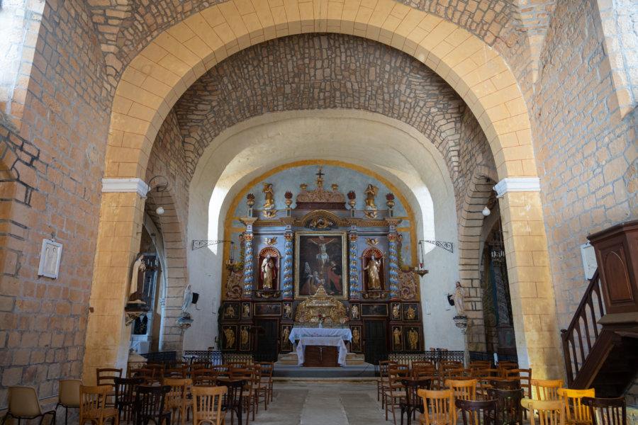 Eglise de Montcabrier dans le Lot