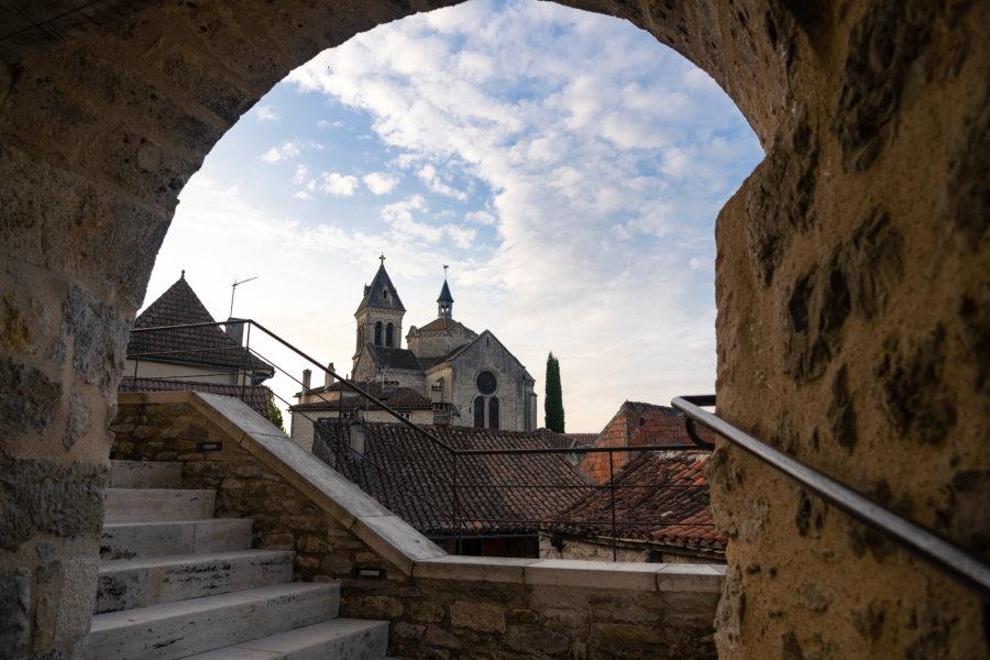 Église et vieux village d'Albas, Lot