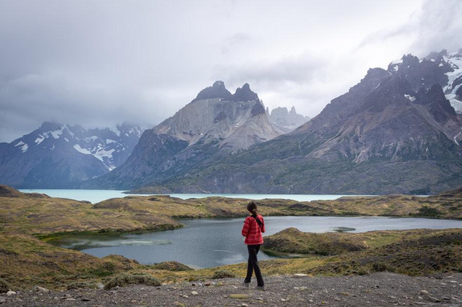 Lac Nordenskjold et les Cuernos à Torres del Paine