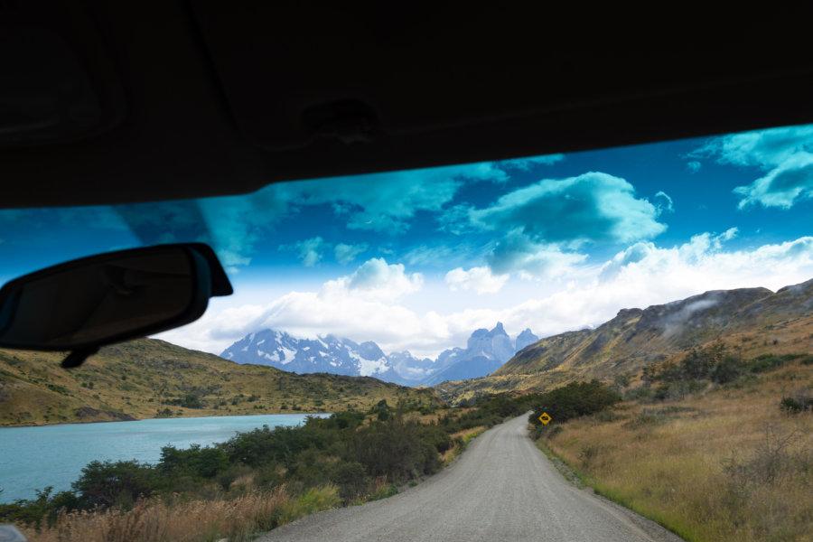Visite en voiture du parc Torres del Paine au Chili
