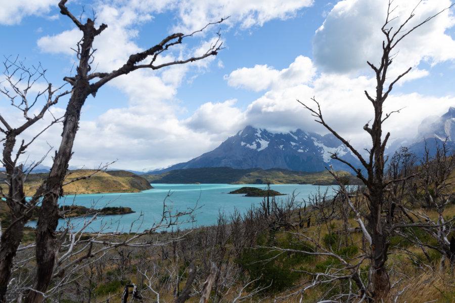 Randonnée vers le mirador du Condor près du Lago Pehoé