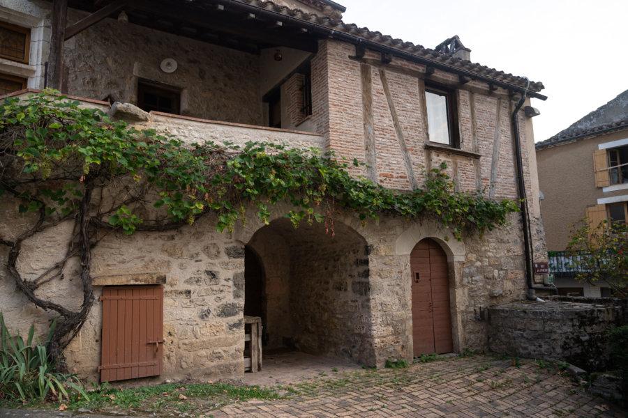 Vieille maison à Albas