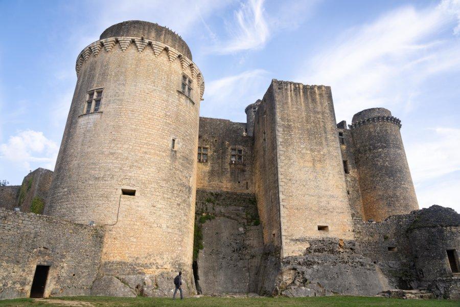 Visite du château de Bonaguil