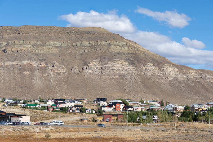 Ville d'El Calafate en Patagonie argentine