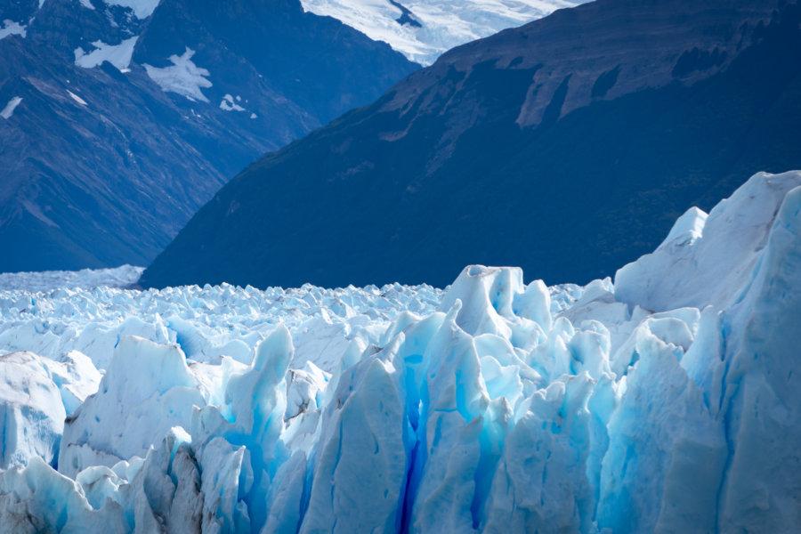 Glacier du Perito Moreno en Patagonie argentine