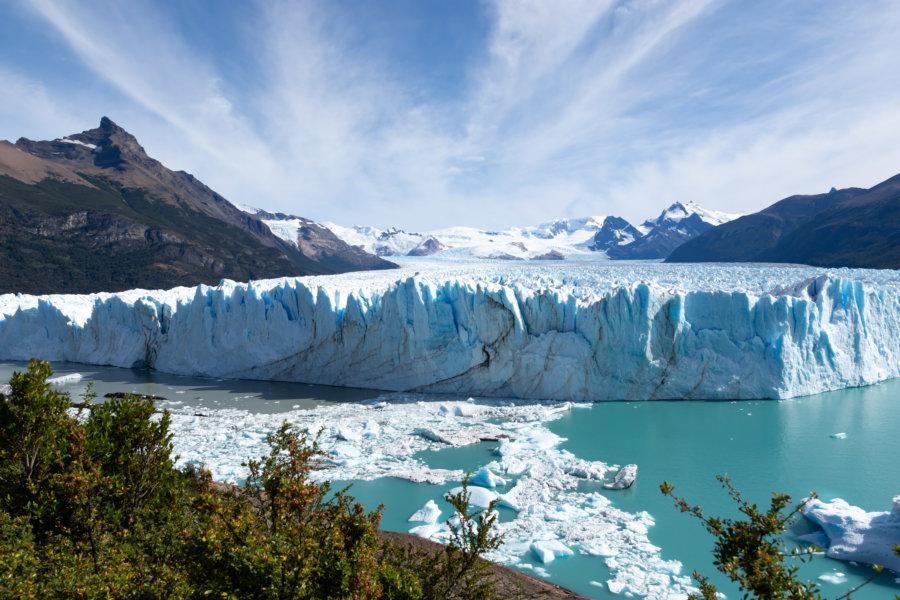 Excursion au glacier Perito Moreno en Argentine