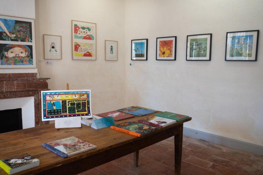 Musée de l'illustration à Sarrant
