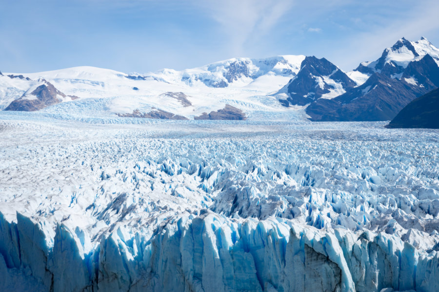 Glacier du Perito Moreno en Argentine