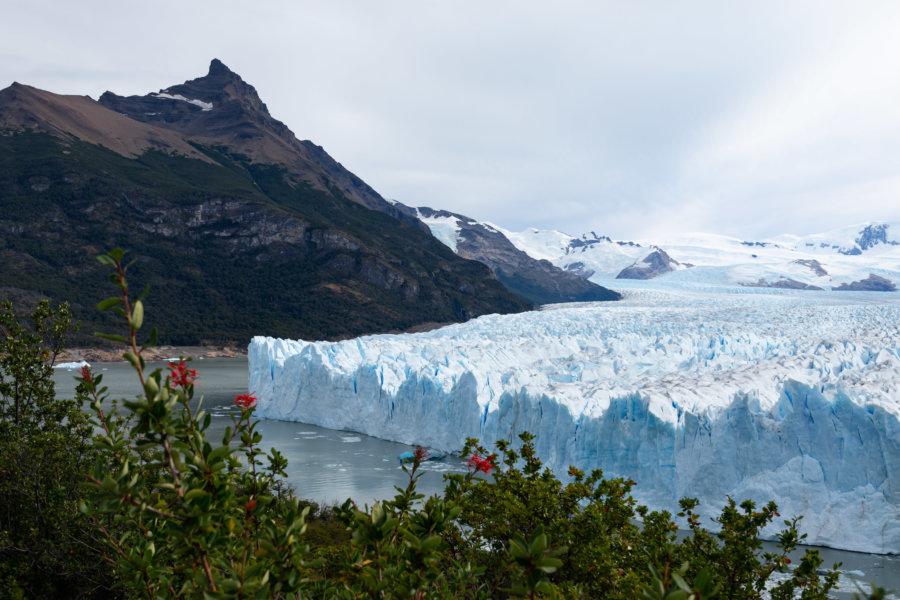 Paysage de Patagonie : le Perito Moreno en Argentine