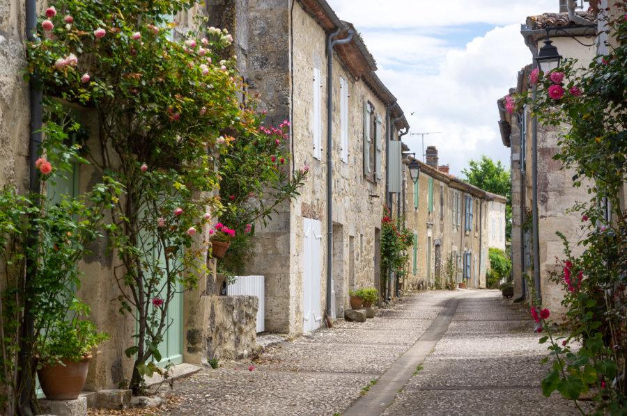 Village de Castéra-Lectourois dans le Gers