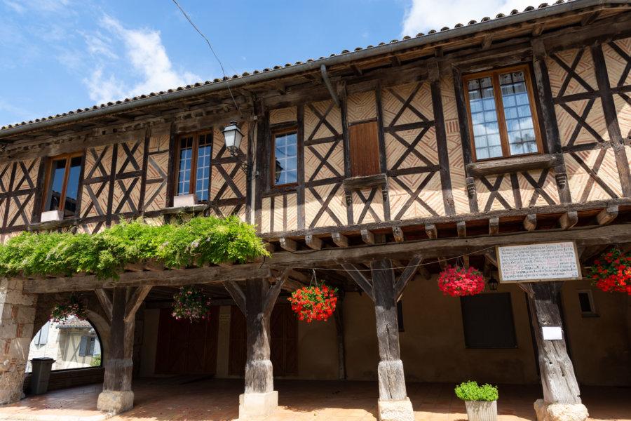 Village de Dunes dans le Tarn-et-Garonne