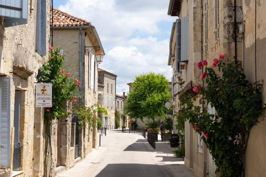 Village de La Romieu dans le Gers