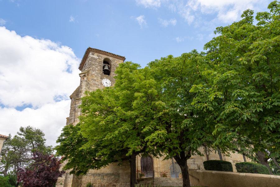 Village de Marsolan dans le Gers