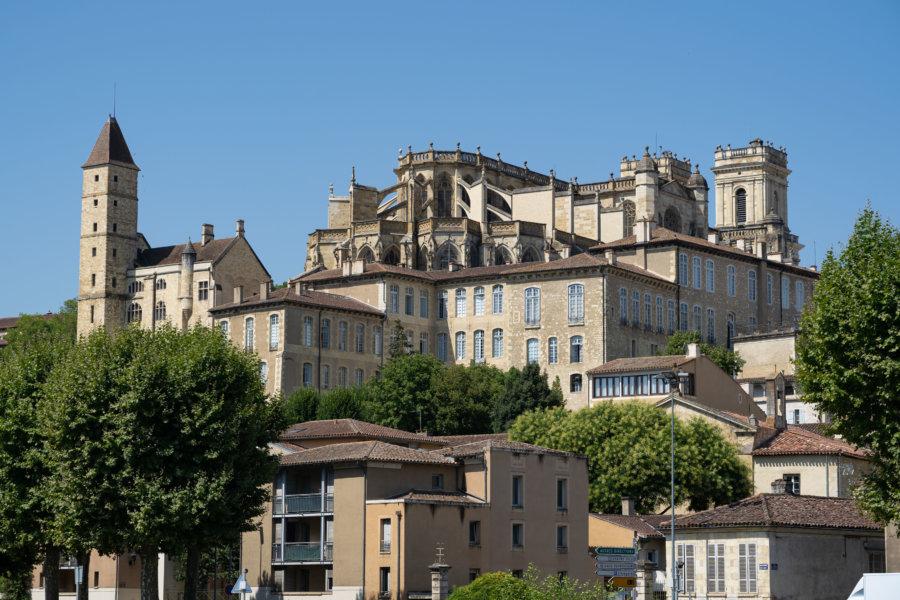 Ville d'Auch dans le Gers