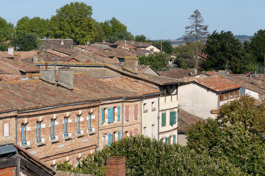 Maisons du centre de Beaumont-de-Lomagne