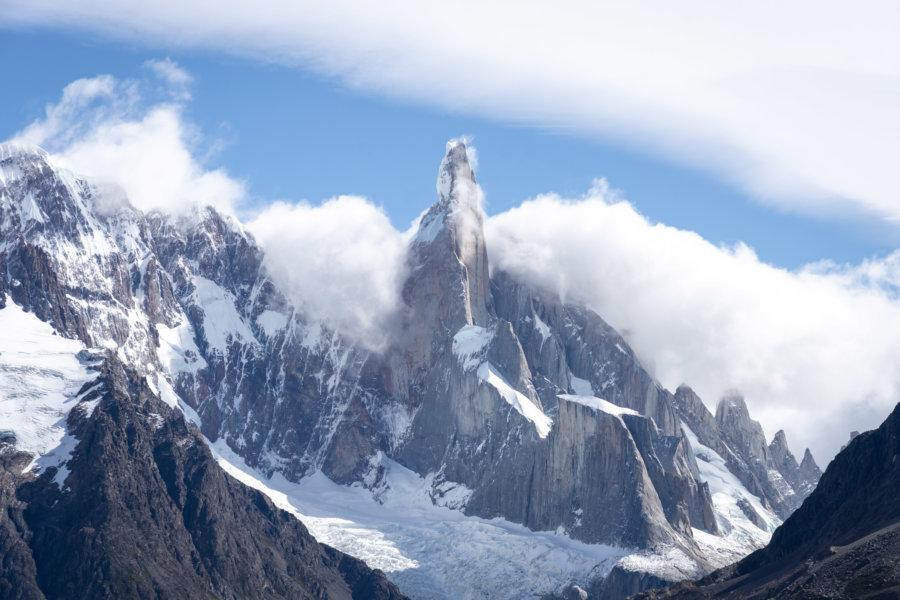 Cerro torre, montagne à El Chaltén