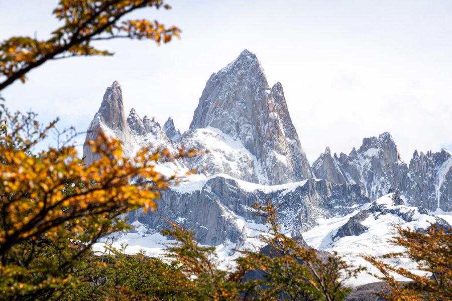Montagne du Fitz Roy à l'automne