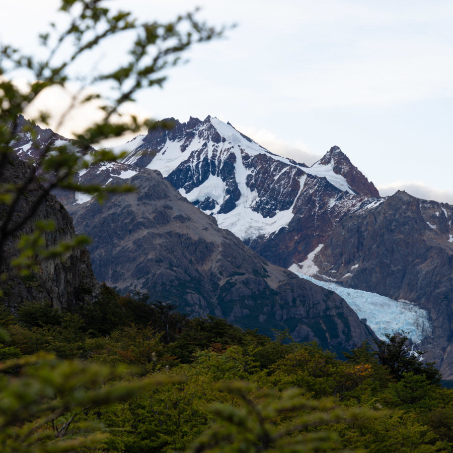 Glacier dans le parc Los glaciares à El Chaltén