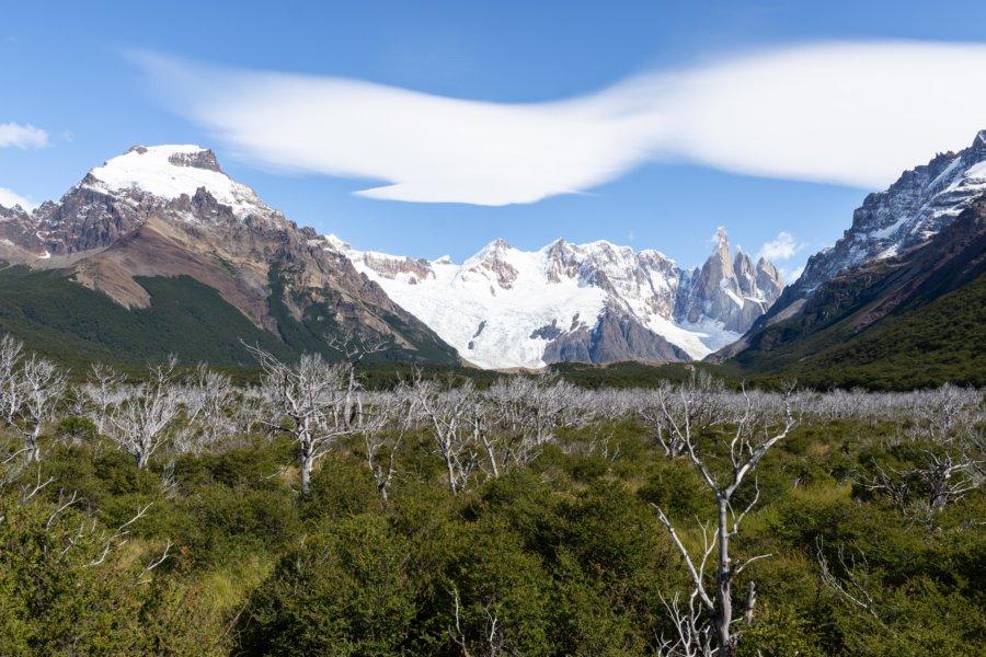Randonnée dans le parc Los Glaciares en Patagonie argentine