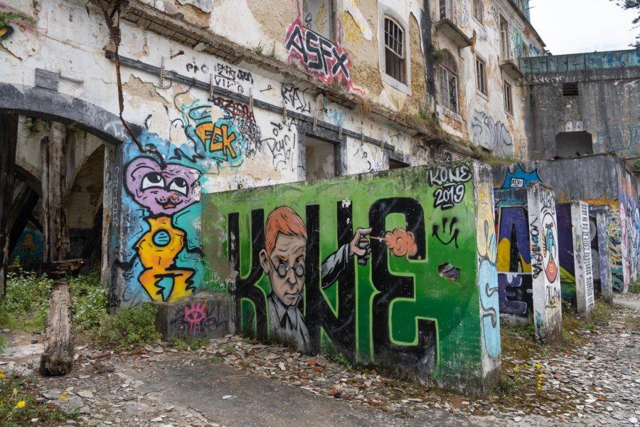 Visite urbex à Almada, Lisbonne
