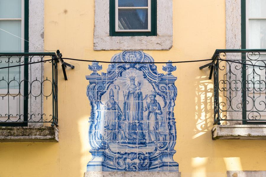 Azulejos à Alfama, Lisbonne