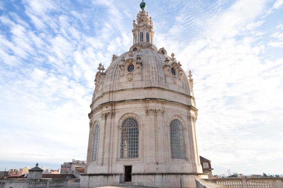 Basilique d'Estrela à Lisbonne