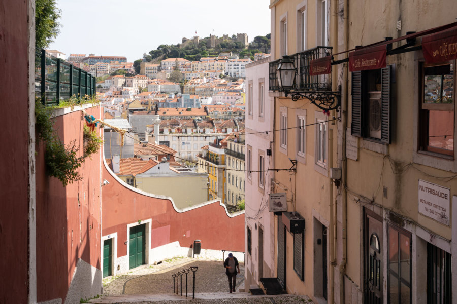 Calçada do Duque, escalier à Lisbonne