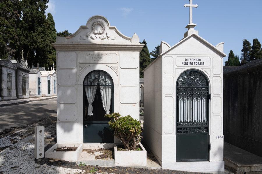 Cimetière dos Prazeres à Lisbonne