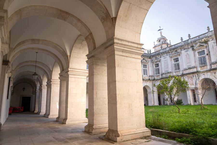 Visite du couvent de Graça à Lisbonne