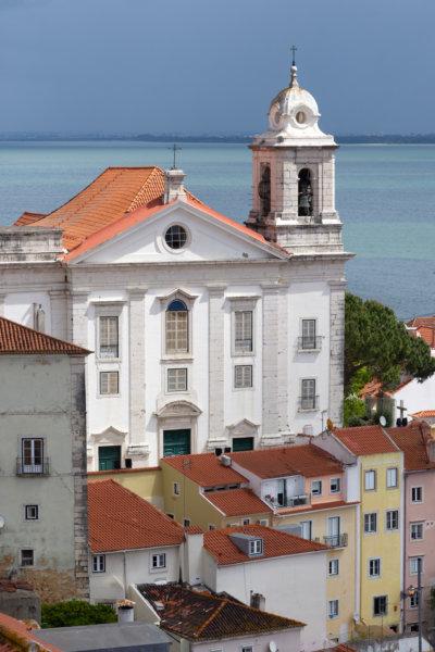 Église Santo Estevao à Lisbonne, Alfama