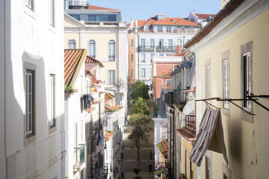 Escalier Bica, Santa Catarina, Lisbonne