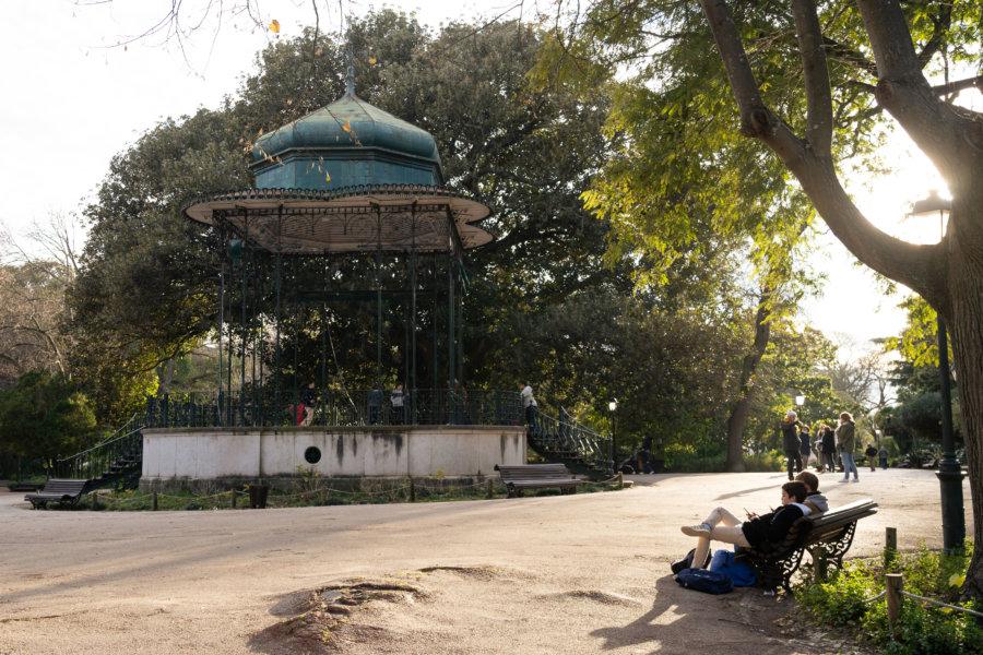 Jardin d'Estrela à Lisbonne