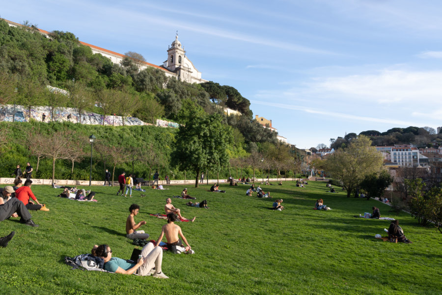 Jardin Cerca da Graça, Lisbonne